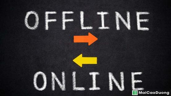 kết hợp tìm kiếm khách online và Offline