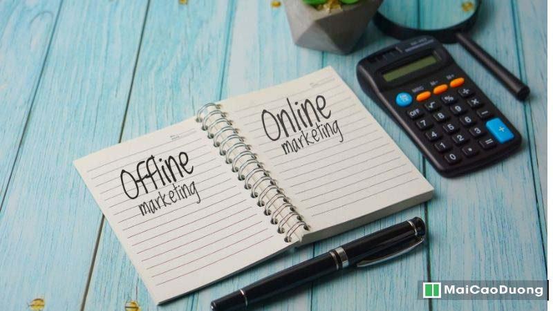 cách tìm khách online và Offline