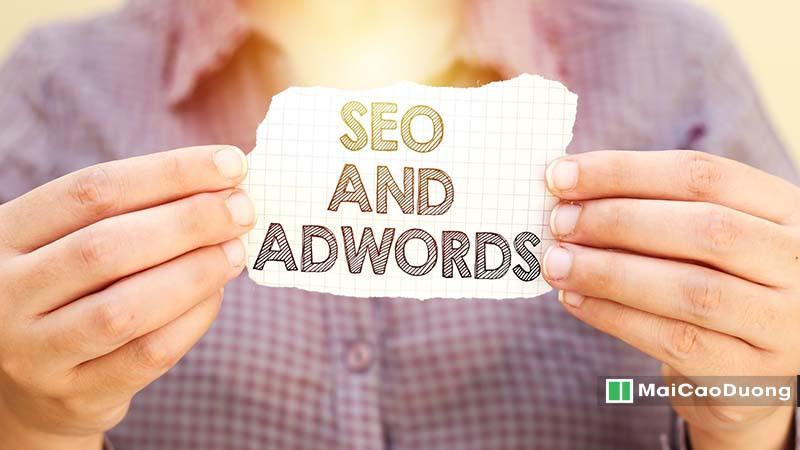 so sánh SEO và Google Ads