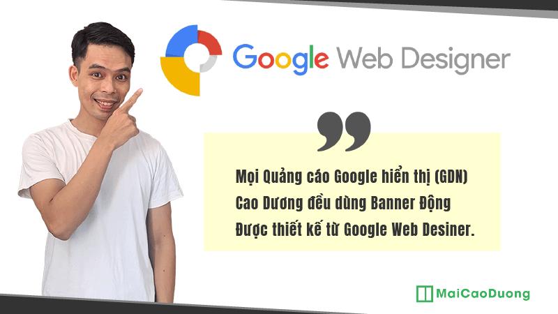 Banner ảnh động quảng cáo Google